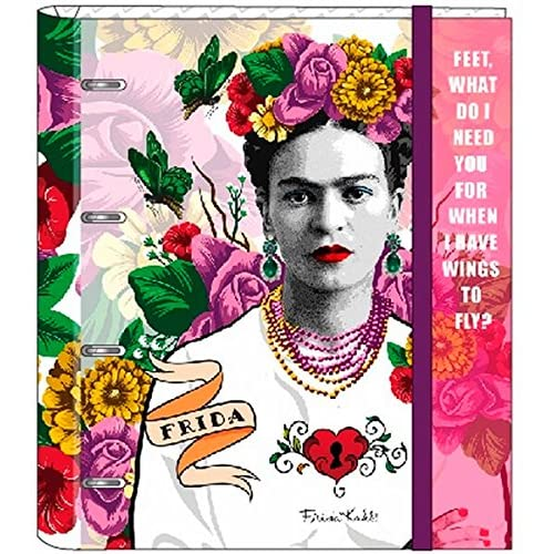 Frida Kahlo- Carpeta 4 Anillas 30 mm con Recambio (SAFTA 561646666 ...