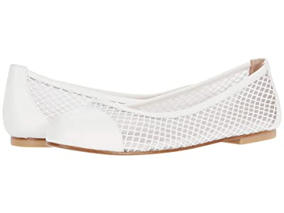 French Sole Jessica (White Diamond Mesh) Women