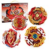 Bey Battle Burst Gyro Attack Blades Metal Fusion Evolution with Arena, Launchers & Includes Battling Tops 4 in 1