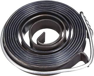 sourcing map taladro metal de prensa de resorte de alimentación de la pluma de retorno conjunto de resorte de bobina 1540mm 58x10x1.5mm