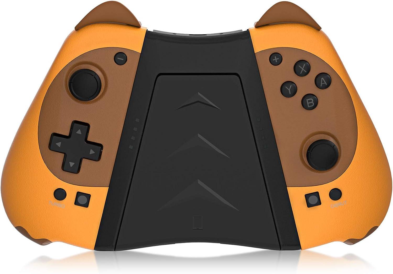 KINGEAR Mandos Switch para Consola Switch/Switch Lite, Mando para Switch Videojuegos, Gamepad con Mando a Distancia para Switch con giroscopio, Encantador Regalo Mujer Regalo Hombre