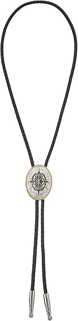Black/Gold/Silver Tribal Pendant