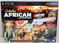 """Features vast hunting areas 5x the size of any other Cabela's console game (as of date of release) Highly memorable """"Big 5""""; challenging and fun boss animal fights Enter and leave your vehicle anytime, anywhere while you take on large herds of stampe..."""