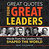 2022 Great Quotes From Great Leaders Boxed Calendar: 365 Inspirational Quotes From Leaders Who Shaped the World (Daily Calendar, Desk Gift for Him, Office Gift for Her)