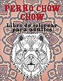 Perro Chow Chow - Libro de colorear para adultos