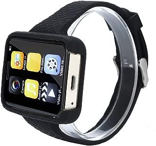 Unlocked I5S Smallest Smartwatch Phone Ultra Thin Mini CellPhone Bluetooth 4.0, Battery 500MAh, Memory 64+128mb, smart wristband