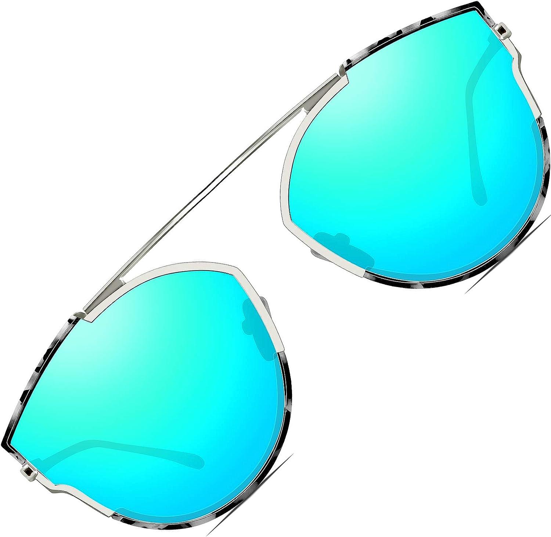 ATTCL - Lunette de soleil - Femme M Bleu