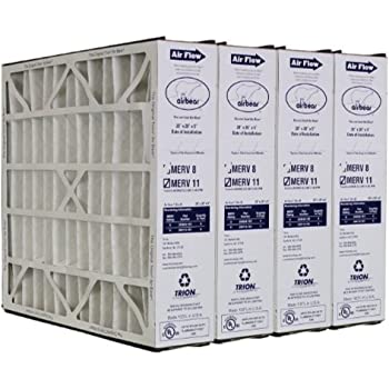 Nordic Pure 20x20x5 4-15//16 Actual Depth 4 PACK 4 PACK MERV 10 Trion Air Bear 255649-103 Replacement AC Furnace Filter