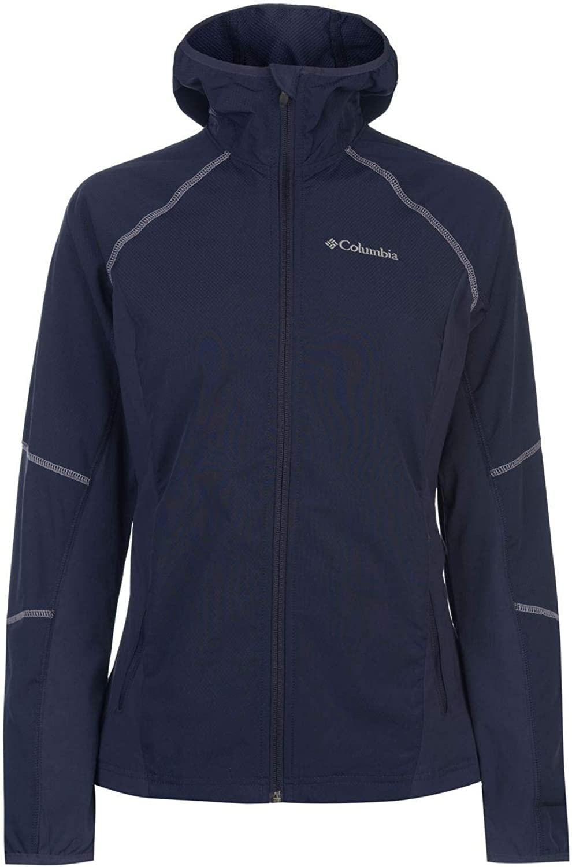 Columbia Snowfall Softshell Jacket Womens Coat Hiking Outdoors Outerwear