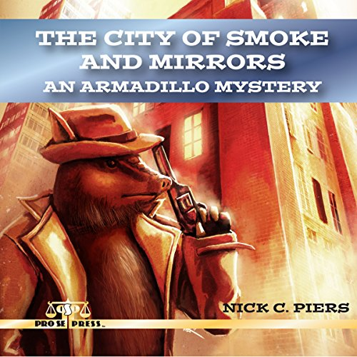 The City of Smoke and Mirrors audiobook cover art