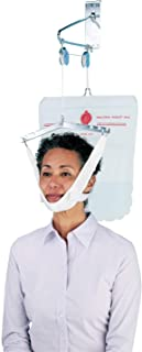Carex Overdoor Cervical Neck Traction Device - Back Stretcher Spinal Decompression and Neck Stretcher Device for Over The Door