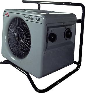 Devi de la Industria Termoventilador devitemp 109T 9000W Calefacción Ventilador/calefactor rápido 5703464010039