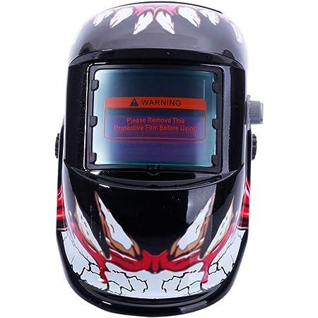 Solar Auto Darkening Welding Helmet Arc Tig Mig Mask Grinding Sea Welder D6G0