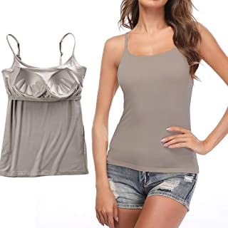2 x LADIES EX STORE STRAPPY CAMI TOPS ASST COLOURS SIZES UK  16  NEW GREY ONLY