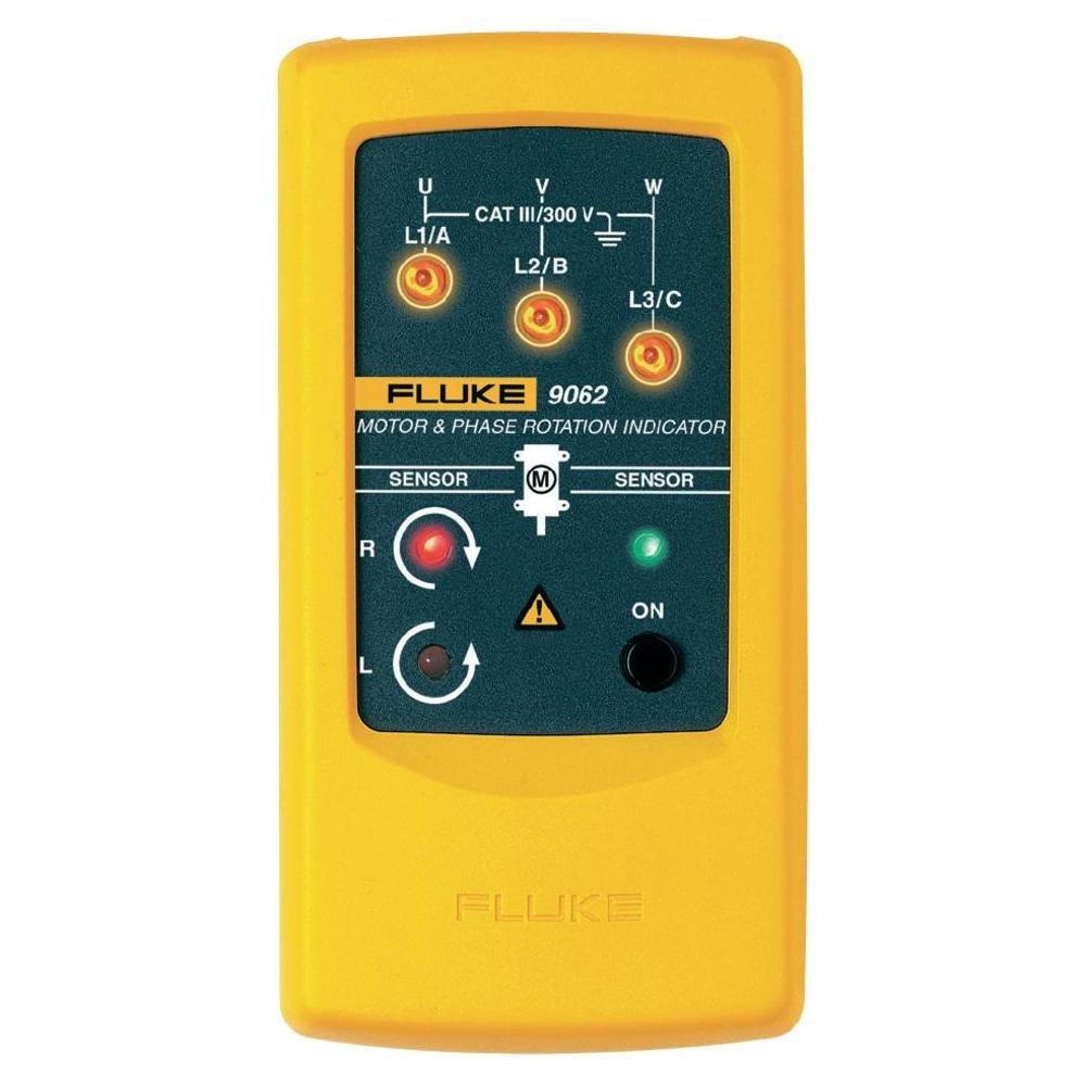 Fluke 新作送料無料 9062 Motor and Indicator Phase Rotation アイテム勢ぞろい