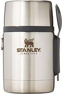 Stanley Classic Legendary Vacuum Insulated Food Jar 18 oz – Stainless Steel, Naturally BPA-Free...