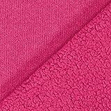 Fabulous Fabrics 100% Baumwollfleece – hot pink —