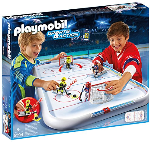 Fantastic Deal! Playmobil 5594 Sports & Action Ice Hockey Arena