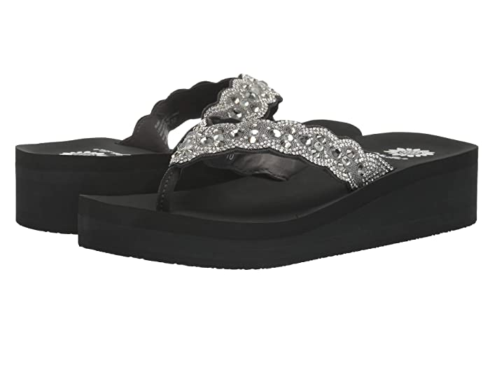 Yellow Box  Rubie (Gray) Womens Sandals
