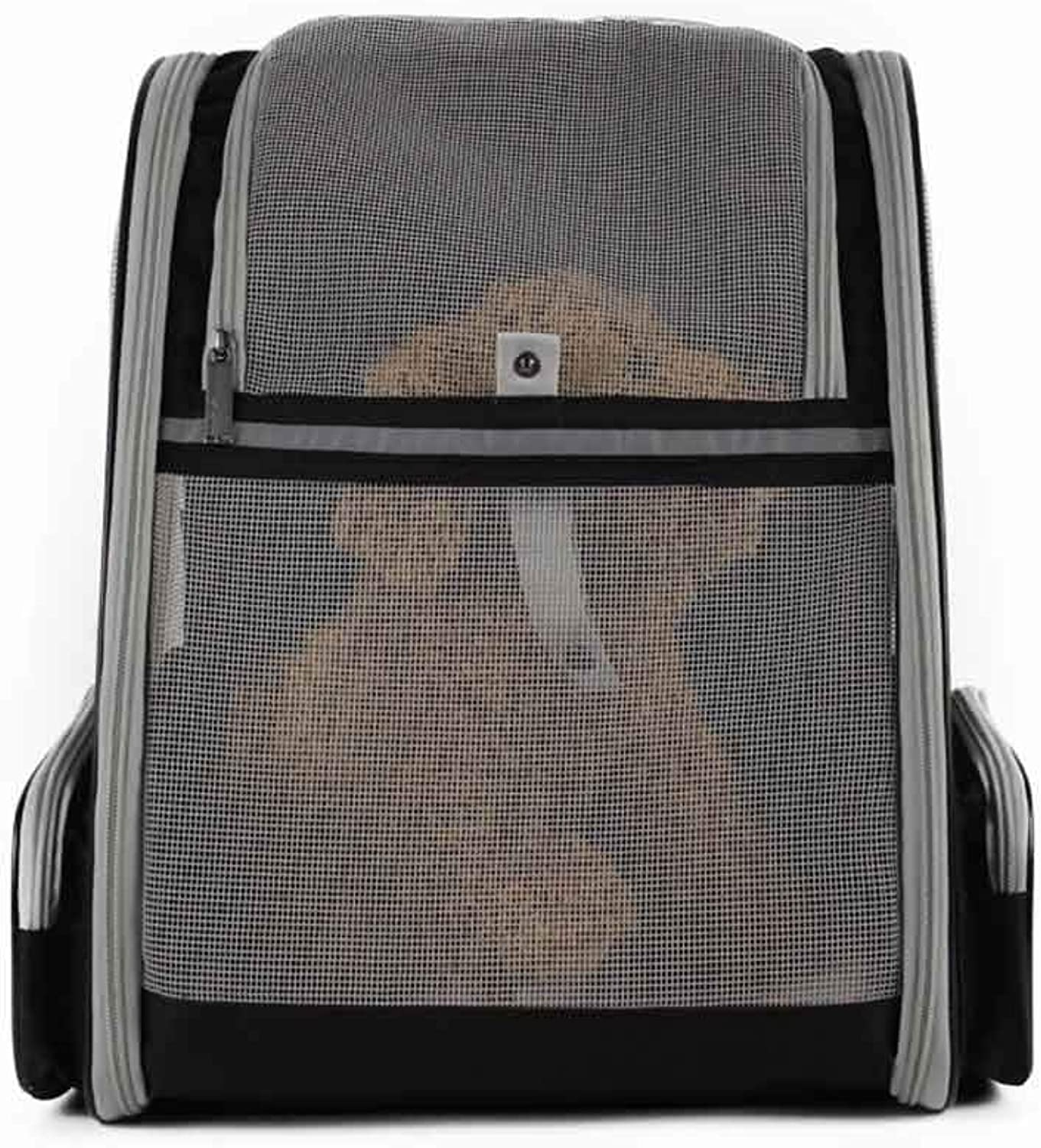 ACLBB Pet breathable backpack, travel backpack, portable shoulder design, cat and puppy