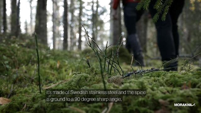 Morakniv Eldris Knife Fixed-Blade Sandvik Stainless Steel Lanyard Blade Firestarter 2.2 Inch