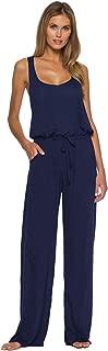 Breezy Basics Twist Back Jumpsuit Cover-Up