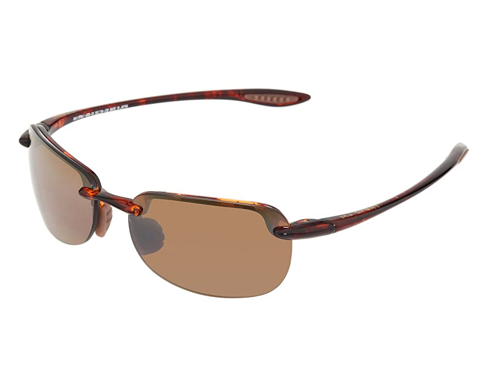 Maui Jim Sandy Beach (Tortoise/HCL Bronze Lens) Sport Sunglasses