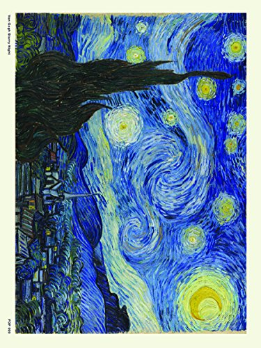 onthewall Stampa Artistica 'Van Gogh Notte Stellata 30x 40cm