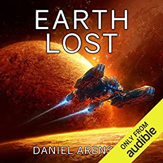 Earth Lost audiobook cover art