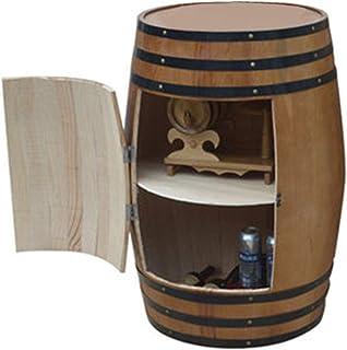 Tonneau de vin en chêne, Tonneau de stockage de whisky Wine Spirit, Bar à vin en bois, Tonneau à vin, 50L / 100L / 150L / ...