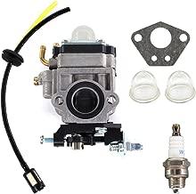 USPEEDA Carburetor for Thunderbay Y43 Auger Power Head Y2007 Mini Cultivator 430025 Carb Fuel Line Grommet Spark Plug