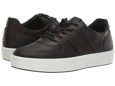 ECCO Soft 8 Classic Sneaker (Black/Black) Men