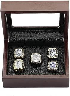 crystal 1st store Dallas Cowboys Supper Bowl Championship Rings Size 11 Display Box Full Set Replica