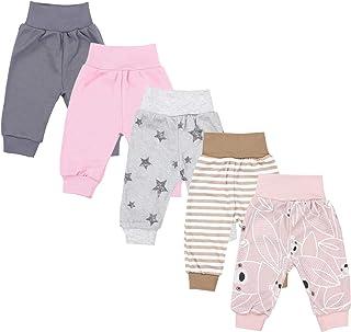 TupTam Pantalones de Bebé. Paquete de 5