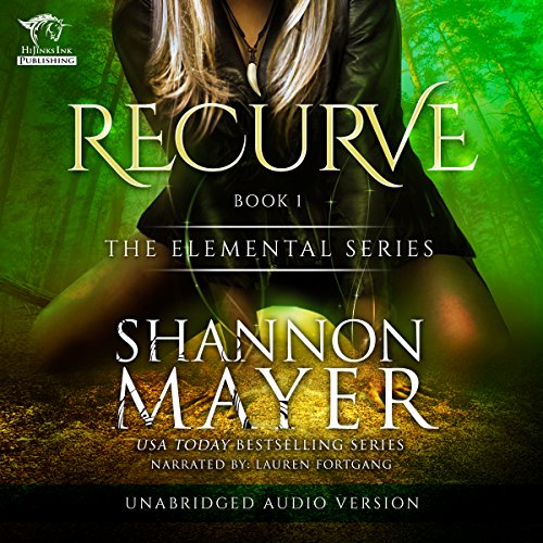Recurve audiobook cover art