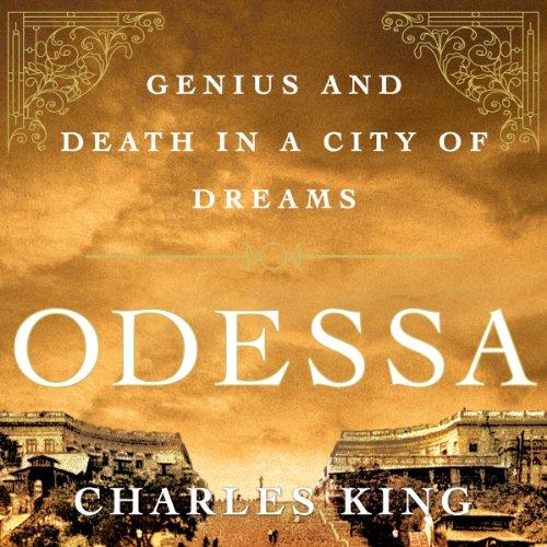 Odessa audiobook cover art