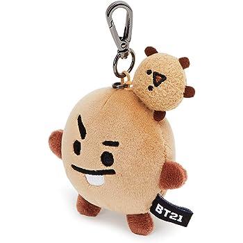 BT21 Official Merchandise by Line Friends - Character Plush Keychain Handbag Accessory for Women, Parent