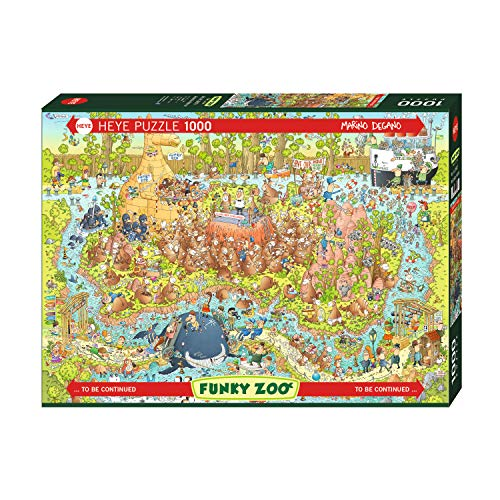 HEYE HY29870 3329870 Puzzle, Mehrfarbig