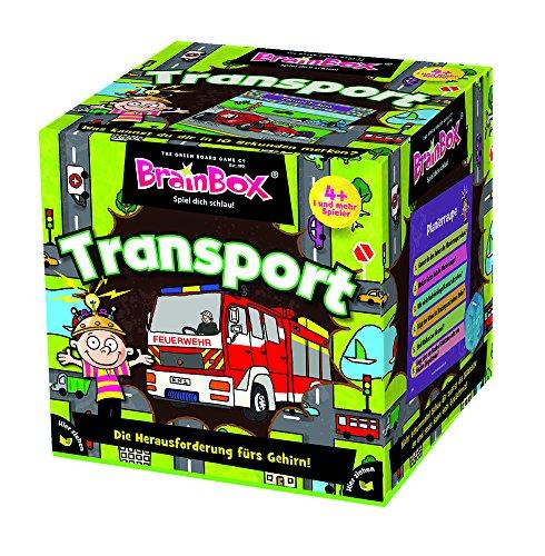 Brain Box 94958 Transport, Lernspiel, Quizspiel für Kinder ab 4 Jahren