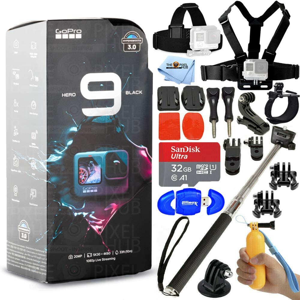 Max 57% OFF GoPro HERO9 Black - Waterproof Action with and Front LCD Camera Ranking TOP15