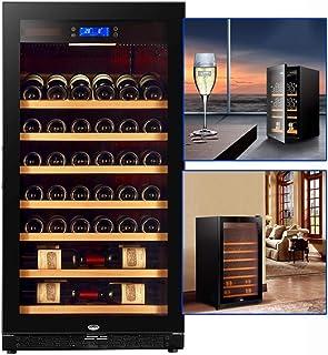 Humidors Vinkylare konstant temperatur fuktgivande vinkylare hushåll kompressor te kylskåp kontor cigarr kylare (färg: Sva...
