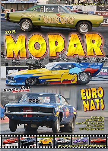 2015 Mopar EuroNats - muscle car drag racing at Santa Pod