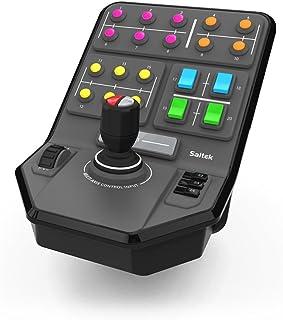 Deck de Controle de Equipamento Pesado da Simulação Heavy Equipment Side Panel, Logitech G, Joysticks e Controles para Com...
