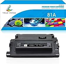 True Image Compatible Toner Cartridge Replacement for HP 81A CF281A 81X Laserjet Enterprise MFP M605 M604 M604N M604DN M60...