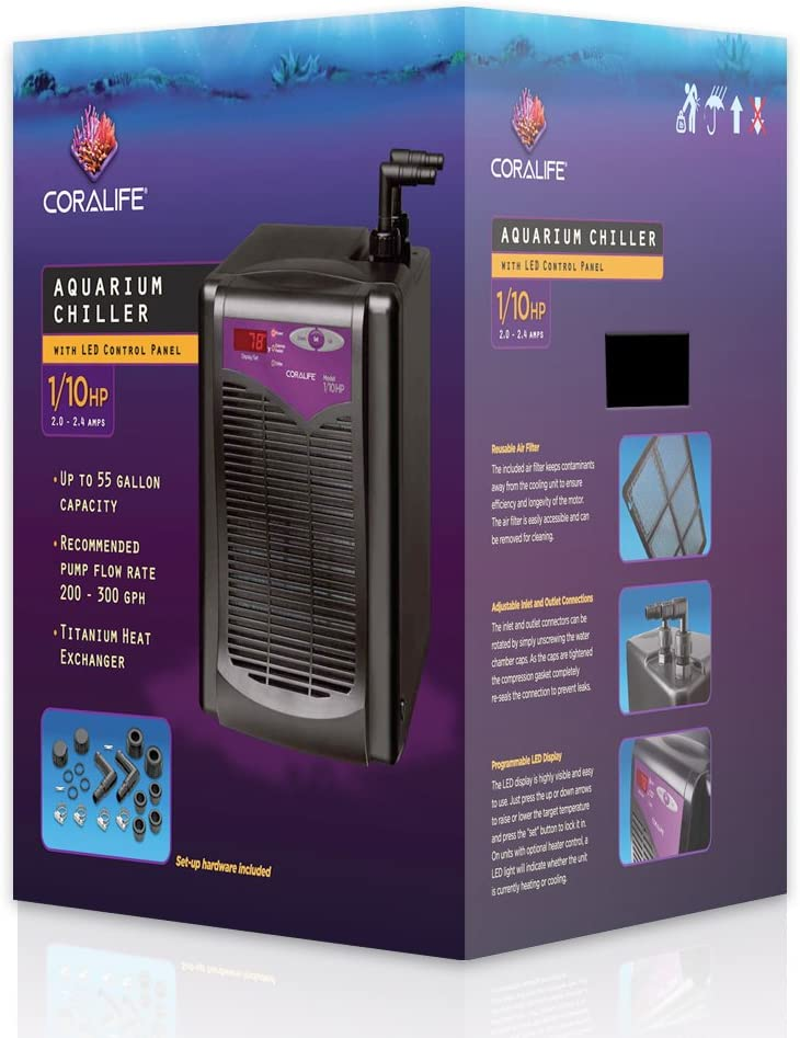 Coralife Energy Savers Chiller