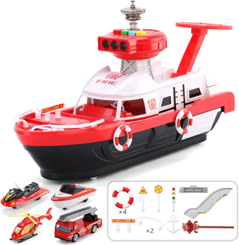 Simulation Track Inertia Boat with Max 82% OFF Set Lights Vehicles Shi Music Spring new work