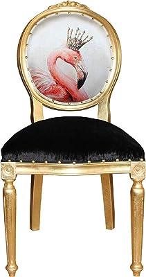 Casa-Padrino Silla de Comedor barroca Marilyn Monroe Bubble ...