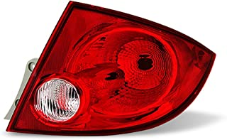 VIPMOTOZ Passenger Side Red Lens OE-Style Right Tail Light Housing Lamp Assembly Replacement For 2005-2010 Chevy Cobalt Sedan