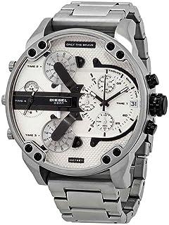 Diesel Mr. Daddy 2.0 Chronograph Quartz Silver Dial Men's Watch DZ7421