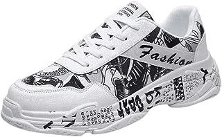 Chaussures De Course Sport Running Mesh Respirantes Confortable Léger Basket Basse Pas Cher Chaussures Ete Graffiti Casual...